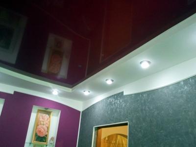 Варианты отделки потолка фото